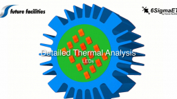 LEDs: Detailed Thermal Analysis