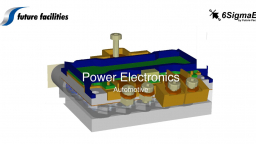 Automotive: Power Electronics